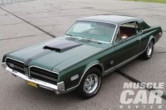 According to his brother Win, Eugene Rittall was always a little different. He had a 1965 Chevelle SS, but wanted something different: a Mercury Cougar. 1965 Chevelle, Chevrolet Chevelle, Car Man Cave, Mercury Cars, Ford Lincoln Mercury, Pony Car, American Muscle Cars, Hot Cars, Cars And Motorcycles