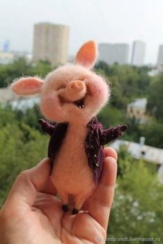 Needle felted art needlefeltedanimals haso diy guinea pig cage ideas for your adorable cavies The Animals, Cute Little Animals, Felt Animals, Cutest Animals, Funny Animals, Needle Felting Tutorials, Felt Mouse, Animal Projects, Needle Felted Animals