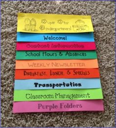Parent Flip book Handbook (Editable) by A Spoonful of Learning   Teachers Pay Teachers