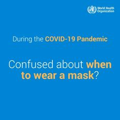 To reduce your risk from #COVID19, #WearAMask when you are spending time indoors with people who are not part of your household unless you're sure the ventilation is good/ World Organizations, International Health, How To Protect Yourself, Safety Tips, Health Advice, Encouragement Quotes, Public Health, Confused, Household