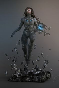 Athena-1, Richie mason on ArtStation at https://www.artstation.com/artwork/athena-1