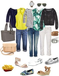 Boyfriend Jeans for Mom on the Go. THE most popular outfit formula for my clients in 2013.