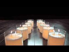 Les très jolies bougies GloLite.
