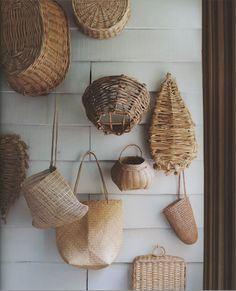 love woven bags, baskets
