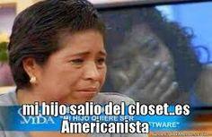 Americanistas meme