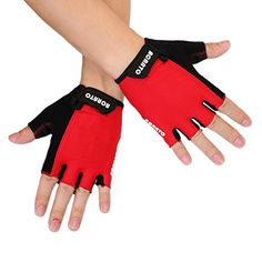 ACRATO Cycling Gloves Biking Gloves Unisex Road Racing Bicycle Gloves Half Finger Breathable Riding Gloves for Men and Women M *** Click on the image for additional details.(This is an Amazon affiliate link and I receive a commission for the sales)