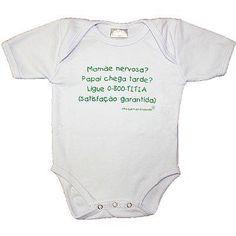 Novidades na Pureza Baby  Bodys com frases, vários modelos  Valor a partir de R$ 37,00  Link para compra http://purezababy.com.br/roupa-bebe-menina/bodies-pagoes-bebes.html