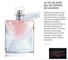 Perfumes Lancome. Mujeres sensuales y sencillas. #fragancias