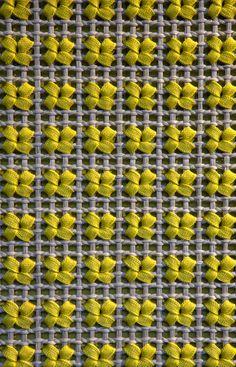 ¡Miren lo que se puede innovar con un tejido de red en crochet!