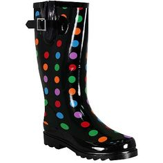 I so want these Rain Dot Boots