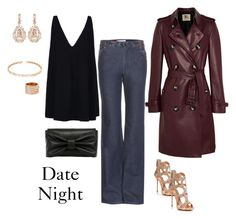"""""""Date Night/chic splendor"""" by chic-splendor on Polyvore featuring Suzanne Kalan, Giuseppe Zanotti, See by Chloé, STELLA McCARTNEY, Repossi, Burberry and RED Valentino"""