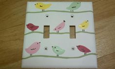 Hand painted outlet cover to match any decor!