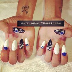nail-swag:    EVIL EYE NAILS for @freakflagfly! #nailswag #nails #swag #nailart #nailartclub #LA (Taken with Instagram)