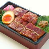 Bento of kakuni from Kagoshima 鹿児島黒豚角煮弁当