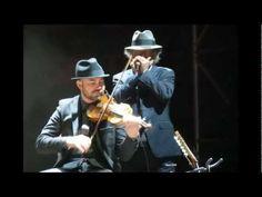 Leonard Cohen: The Window  | Young Leonard singing -  recent tour pics