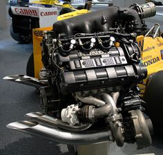 1988 Honda RA168E turbo engine (Formula One)