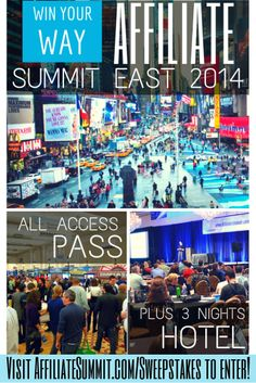 Affiliate Summit East 2014 - a place to be this year!