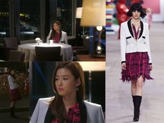Jun Ji Hyun's Fashion Style – You Who Came From the Star Episode 21