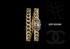 ARTBURO | CHANEL | JEFF KOONS #artburo #chanel #personalization #jeffkoons #art #fashion #luxury #horlogerie #handpainted #handcrafted #watch #gold #cruise17 #exceptionalpieces #2016 #oneofakind