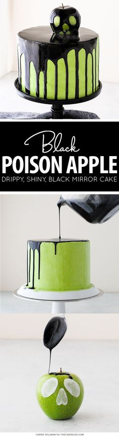 Poison Apple Cake -