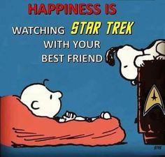Star Trek / Peanuts