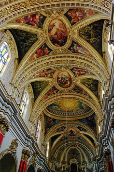 Beautiful churches of Malta - St. Mary of Jesus church, Rabat