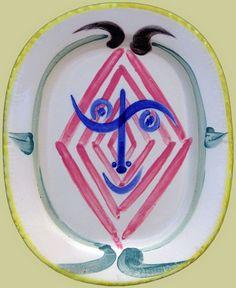 """Pablo Picasso - """"Faun`s Head"""". 1948"""