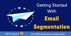 This is a crash course on email segmentation! Join me as I share tools and hacks you can use right now to start segmenting email lists of all sizes. Top Entrepreneurs, Email List, Email Marketing, Author, Writers