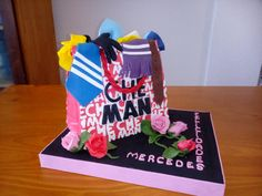CHEMAN'S SHOP BAG CAKE - Cake by Camelia