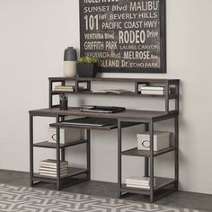 Shop for Barnside Metro Pedestal Desk and Hutch by Home Styles. Get free shipping at Overstock.com - Your Online Furniture Outlet Store! Get 5% in rewards with Club O! - 17681388