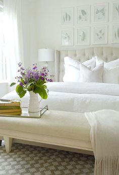 1. white bedroom