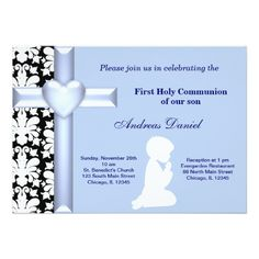 Sold this #damask #holycommunion #invitations to Canada. Thanks for you who purchased this.