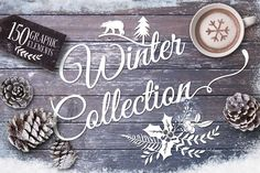 Check out 20% Off -Winter collection +20 Bonus by Graphic Box on Creative Market