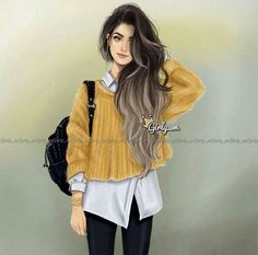 Uploaded by Find images and videos about girly and girly_m on We Heart It - the app to get lost in what you love. Girly M Instagram, Cute Girls, Cool Girl, Princesse Disney Swag, Chica Cool, Cute Girl Drawing, Girly Drawings, Girl M, Girl Hair