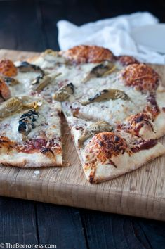 One hour rosemary beer pizza dough4