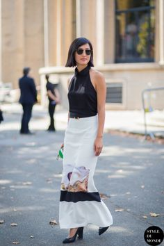 How to Style a Maxi Skirt for Spring   StyleCaster