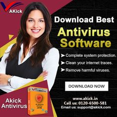 Wish to have high operating speed for your pc?? Get #Akick #Free #Computer #Antivirus #Software to fix all the problems related to your system such as freezing, crashing, & hacking attempts. It highly improves your system efficiency & stability by eradicating entire of the chunky & deleterious codes/programs from the PC. https://www.akick.in/antivirus.php