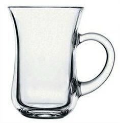 SET OF 6 Turkish  Tea Glass Serving Cups Pasabahce High Quality IZMIR