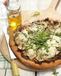 Recept speltpizza (kan perfect half om half met boekweit) Let op: minder water gebruiken! van Amber Albarda