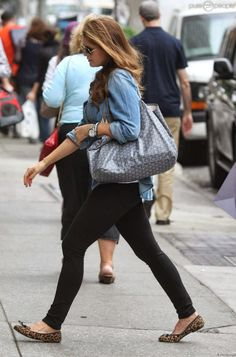 Crown Princess Victoria has been seen shopping in New York with Princess Madeleine. She is carrying a Goyard 'St Louis' Tote.