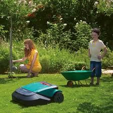 With an effective navigation system, large lawn coverage and loads of extra features, the RS615 is perfect for those with big, complex gardens.