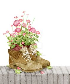 flower shoes by xuanlocxuan.deviantart.com on @DeviantArt