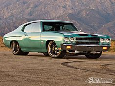 1970 Chevelle with Twin Turbo Duramax Diesel.  My older son, Doug, had a Chevelle VERY much like this one when he was in high school.  I had a 1969 Chevelle Malibu Super Sport that I just loved!