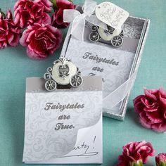 Cinderella's Carriage Note Pad Favor