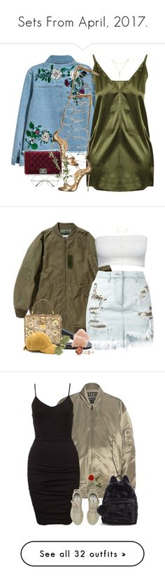"""""""Sets From April, 2017."""" by kahla-robyn ❤ liked on Polyvore featuring H&M, Chanel, Dsquared2, Fragments, Versus, Givenchy, Dolce&Gabbana, adidas Originals, adidas and Boohoo"""