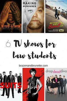 the best legal tv shows to binge watch the summer before law school | brazenandbrunette.com