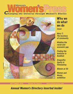 September, 2016 - Minnesota Women's Press E! Filmmaking, Minnesota, September, Community, Illustration, Cinema, Illustrations, Communion