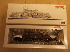 Märklin 3352 Elektrolok CE III Crocodile The Sbb/cff Switzerland for sale Electric Locomotive, Gauges, Pictures, Ebay, Photos, Ears Piercing, Plugs, Grimm