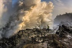 "Beautiful Pictures™ on Twitter: ""Under a monster wave at Shore ..."