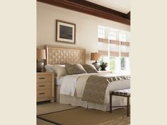 Road To Canberra New Caledonia Headboard 5/0 Queen - Lexington Home Brands